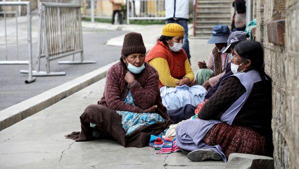 Mujeres bolivianas en La Paz - Sputnik Mundo