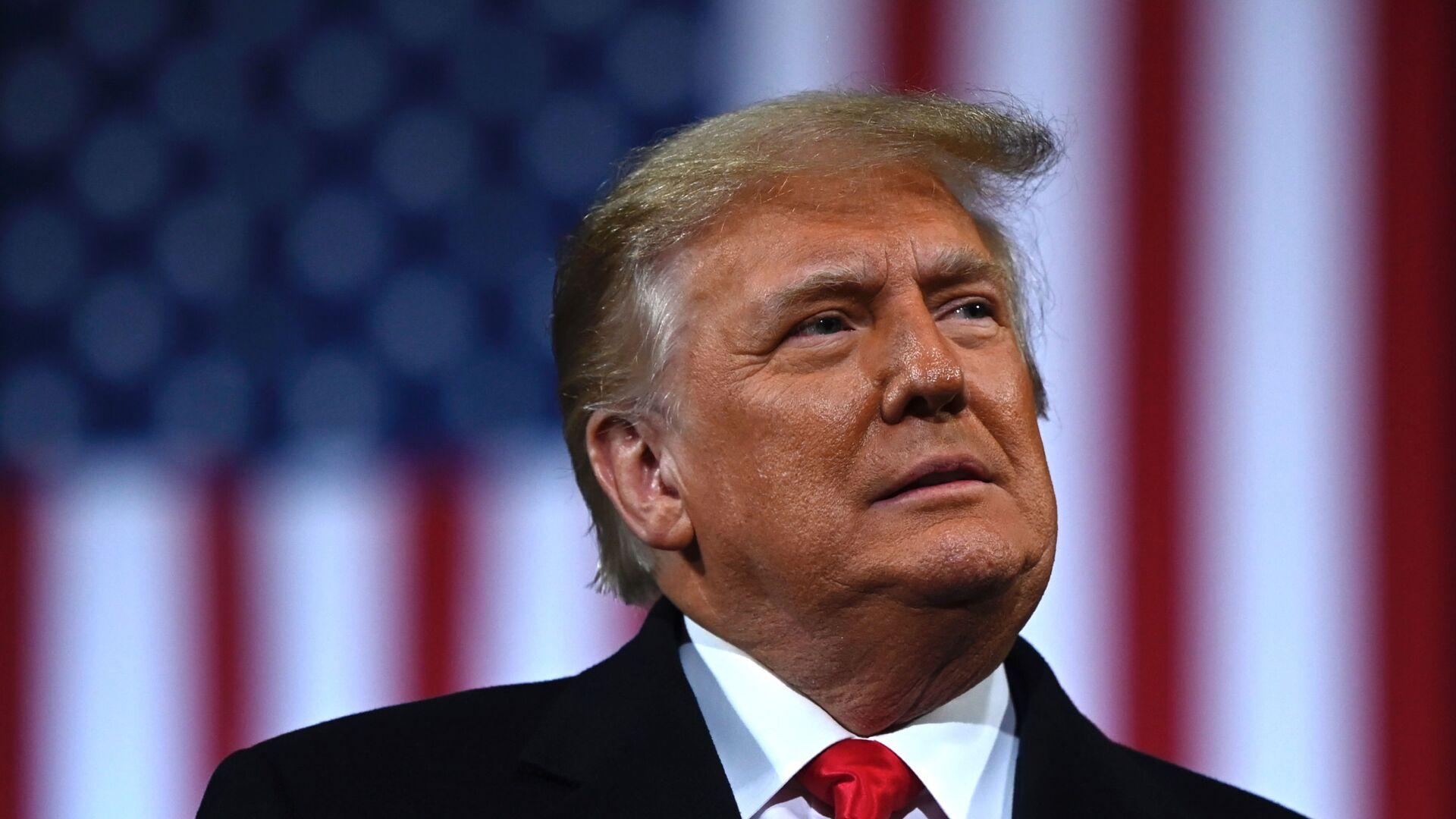 Donald Trump, presidente de EEUU - Sputnik Mundo, 1920, 13.02.2021