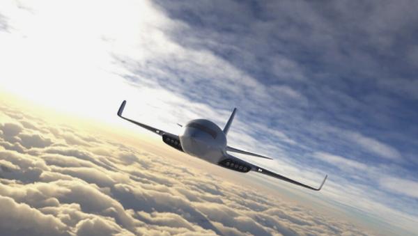 Ilustración de un avión eléctrico Eather One - Sputnik Mundo