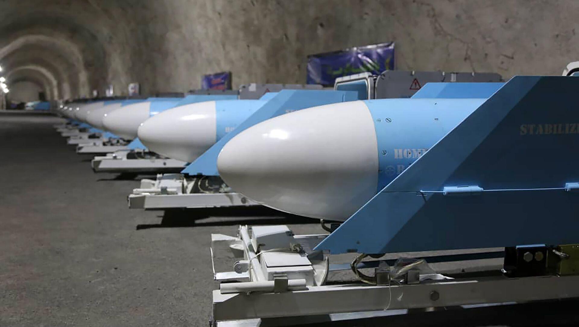 La base subterránea de misiles estratégicos de Irán - Sputnik Mundo, 1920, 09.01.2021