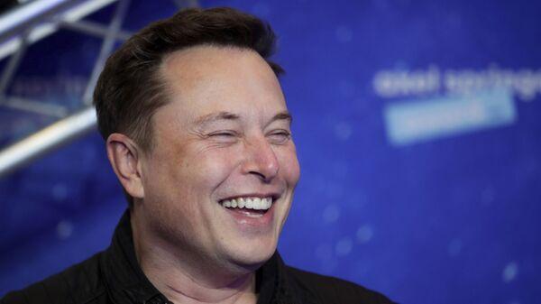 Elon Musk, fundador de Tesla y SpaceX - Sputnik Mundo