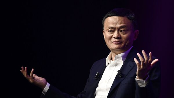 El empresario chino Jack Ma, fundador de Alibaba - Sputnik Mundo