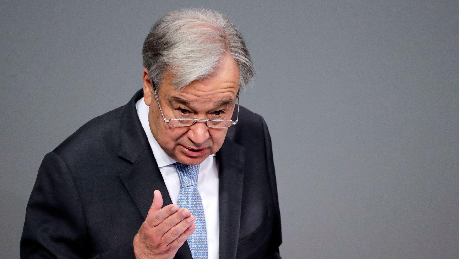 António Guterres, secretario general de la ONU - Sputnik Mundo, 1920, 04.02.2021