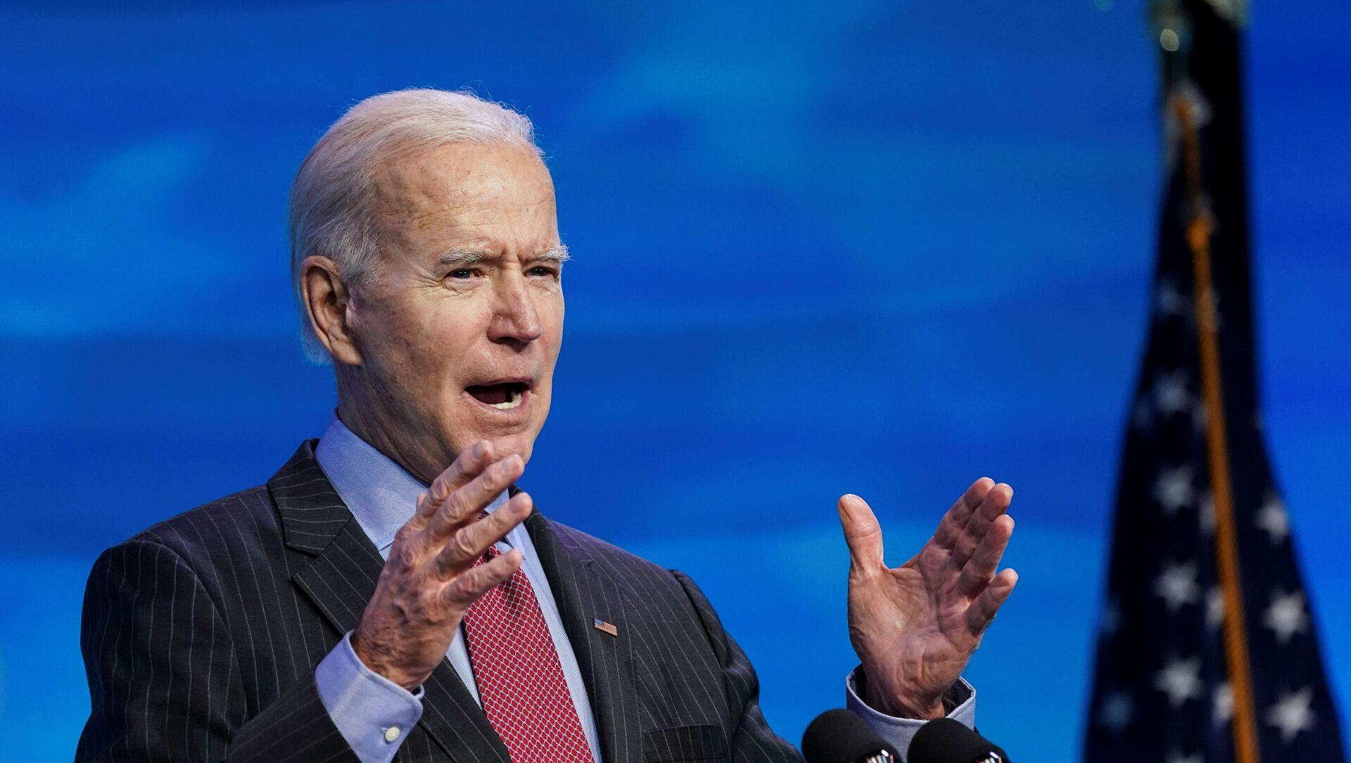 Joe Biden, presidente electo de EEUU - Sputnik Mundo, 1920, 19.01.2021