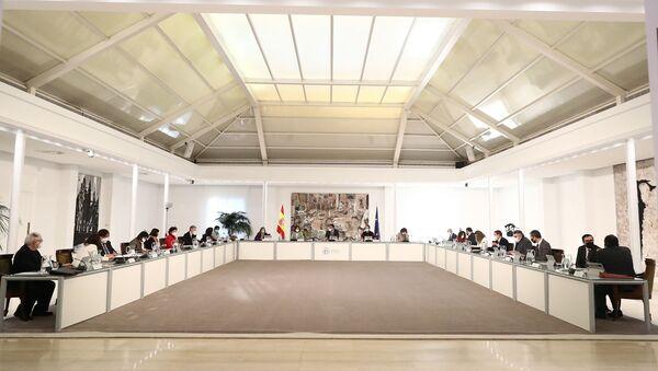 Reunión del Consejo de Ministros de España - Sputnik Mundo