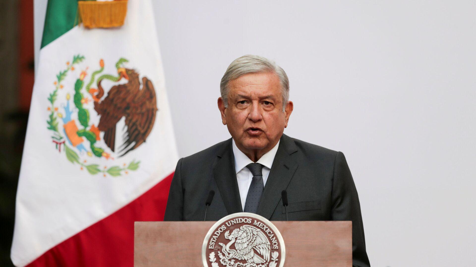Andrés Manuel López Obrador, presidente mexicano - Sputnik Mundo, 1920, 18.03.2021