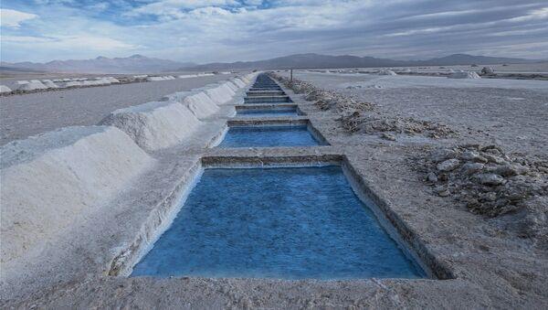 Producción de litio en Jujuy, provincia de Argentina - Sputnik Mundo