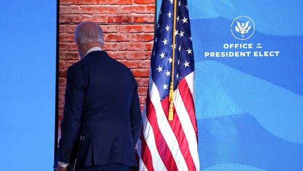 Joe Biden, el presidente electo de EEUU - Sputnik Mundo