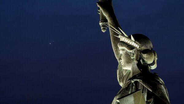 La Estatua de la Libertad en Nueva York, EEUU - Sputnik Mundo