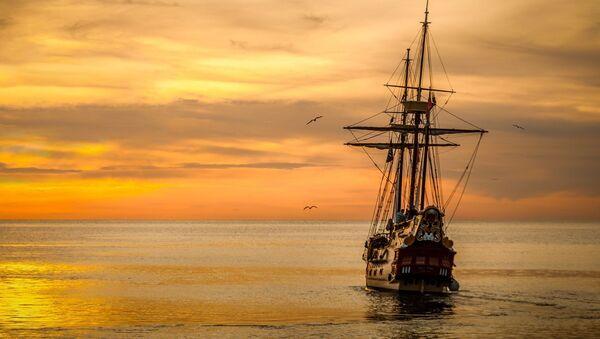 Un buque antiguo, referencial - Sputnik Mundo
