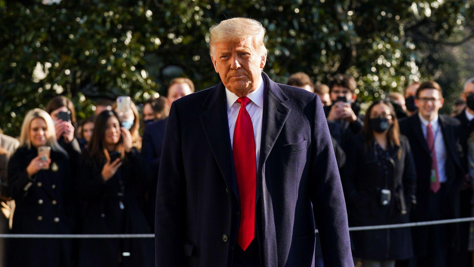 Donald Trump, expresidente de EEUU - Sputnik Mundo, 1920, 19.05.2021