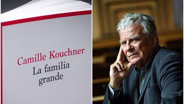 El libro 'La familia grande' por Camille Kouchner y el retrato del polotólogo francés Olivier Duhamel - Sputnik Mundo