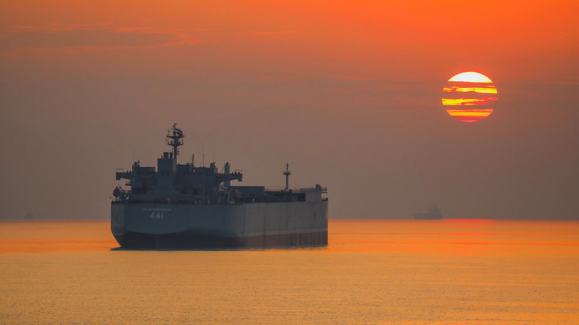 Un buque de Irán en las aguas del golfo de Omán - Sputnik Mundo, 1920, 07.04.2021