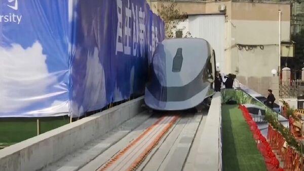 Un tren Maglev chino - Sputnik Mundo