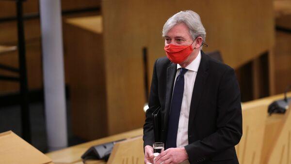 El líder del Partido Laborista en Escocia, Richard Leonard - Sputnik Mundo