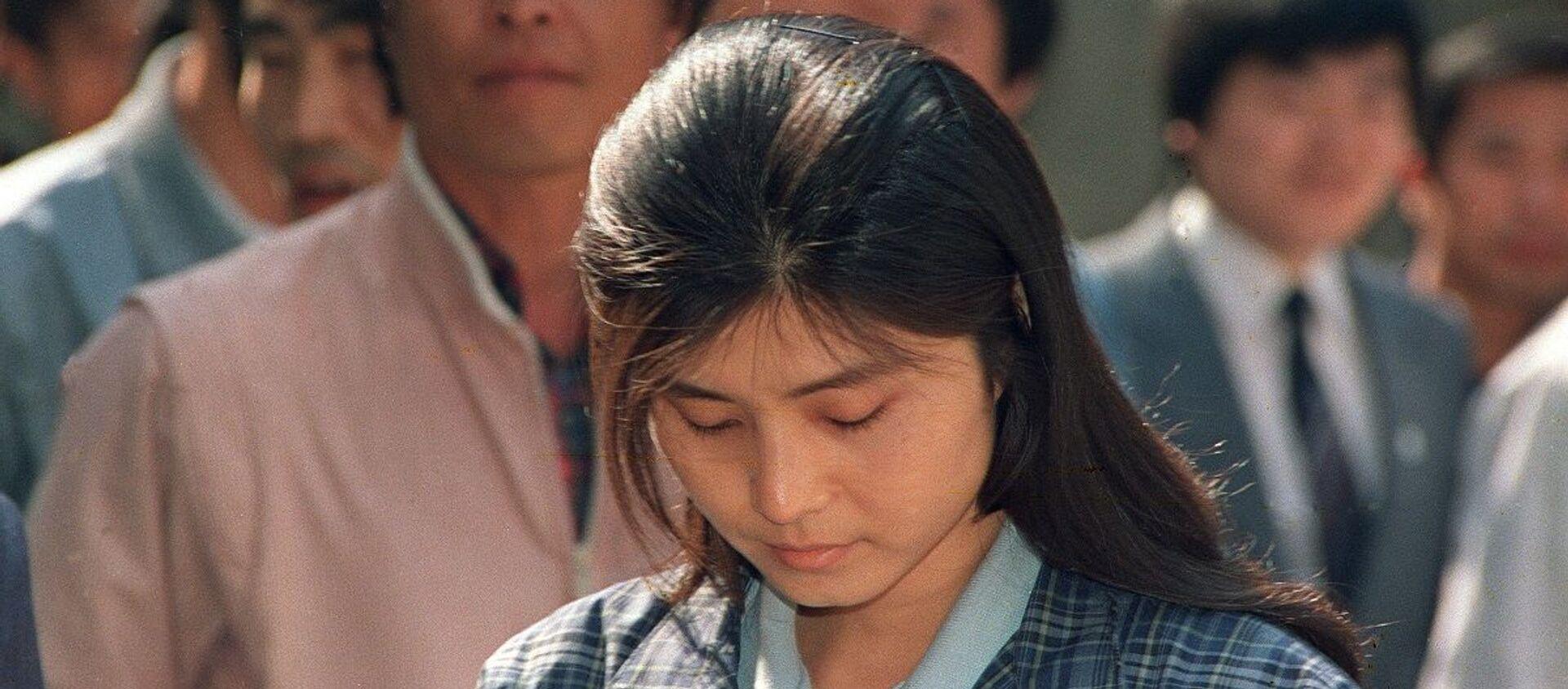 Kim Hyon-hui, una  joven espía norcoreana, perdonada tras el extraño accidente de un avión de pasajeros surcoreano  - Sputnik Mundo, 1920, 14.01.2021