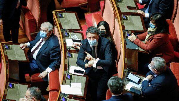 Matteo Renzi, líder del partido político Italia Viva - Sputnik Mundo
