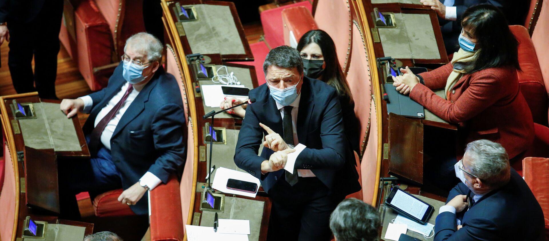 Matteo Renzi, líder del partido político Italia Viva - Sputnik Mundo, 1920, 14.01.2021