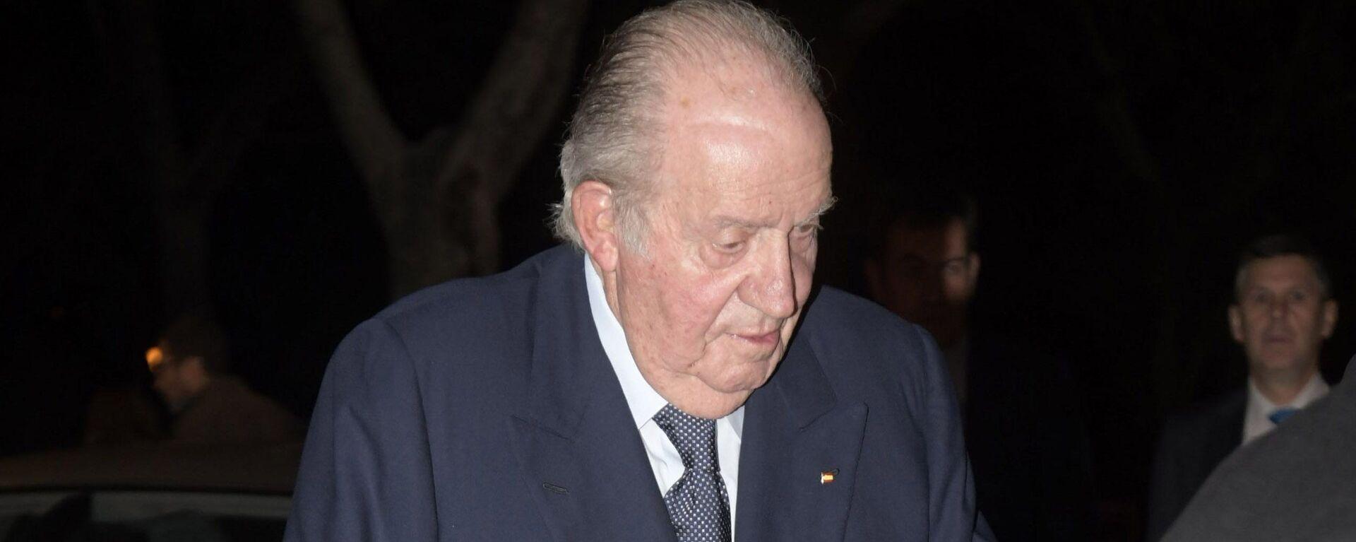 El rey emérito de España Juan Carlos I - Sputnik Mundo, 1920, 15.06.2021