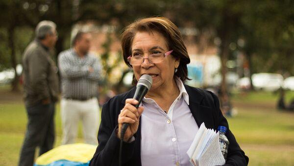 Aída Avella, senadora de la Colombia y presidenta de la Unión Patriótica - Sputnik Mundo