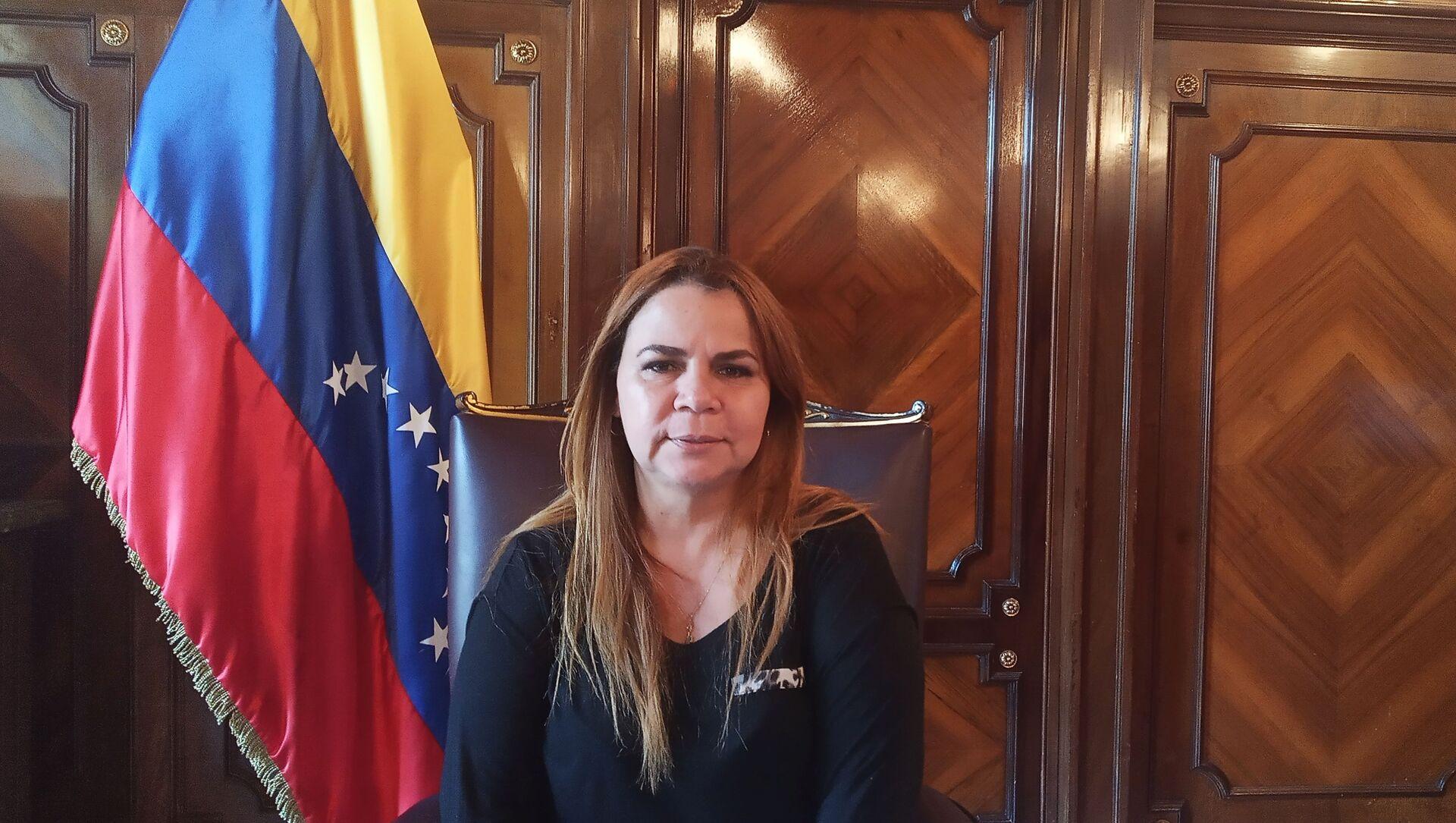 Iris Varela, vicepresidenta de la Asamblea Nacional de Venezuela - Sputnik Mundo, 1920, 15.01.2021