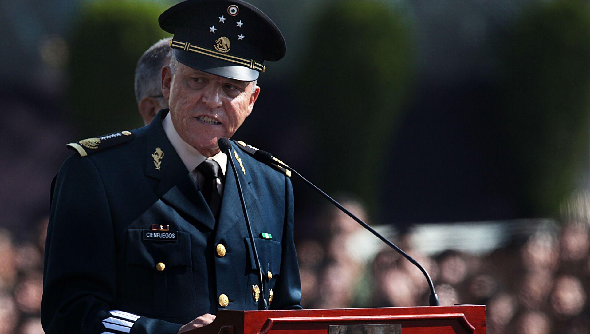 Salvador Cienfuegos Zepeda, exsecretario de Defensa de México - Sputnik Mundo, 1920, 27.01.2021