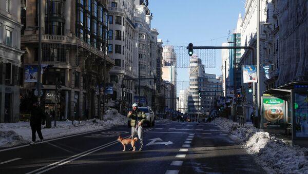 Gran Vía, Madrid - Sputnik Mundo