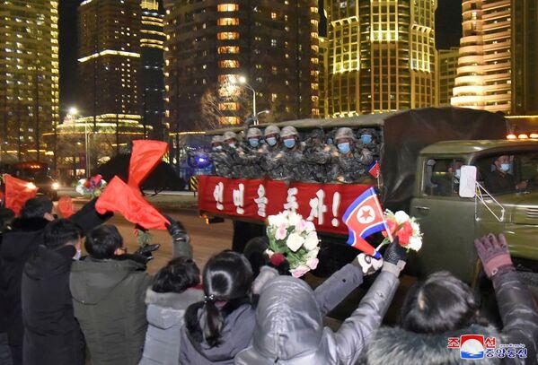 El desfile militar que se celebró con motivo del VIII Congreso del Partido de los Trabajadores de Corea. - Sputnik Mundo