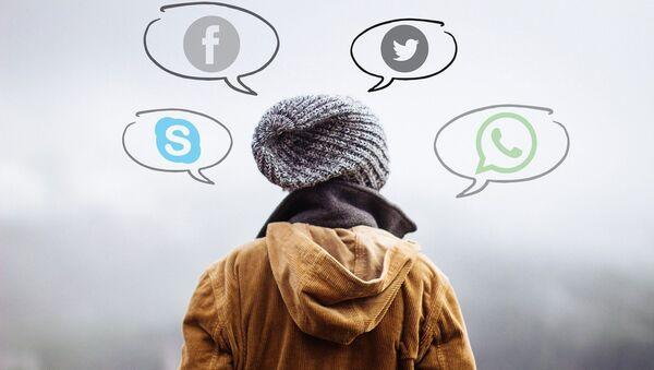 Imagen referencial de redes sociales - Sputnik Mundo