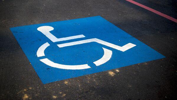 Símbolo de la silla de ruedas - Sputnik Mundo