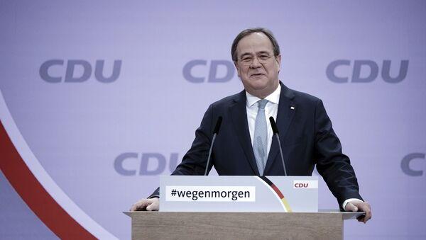 Armin Laschet líder elegido del CDU alemán - Sputnik Mundo