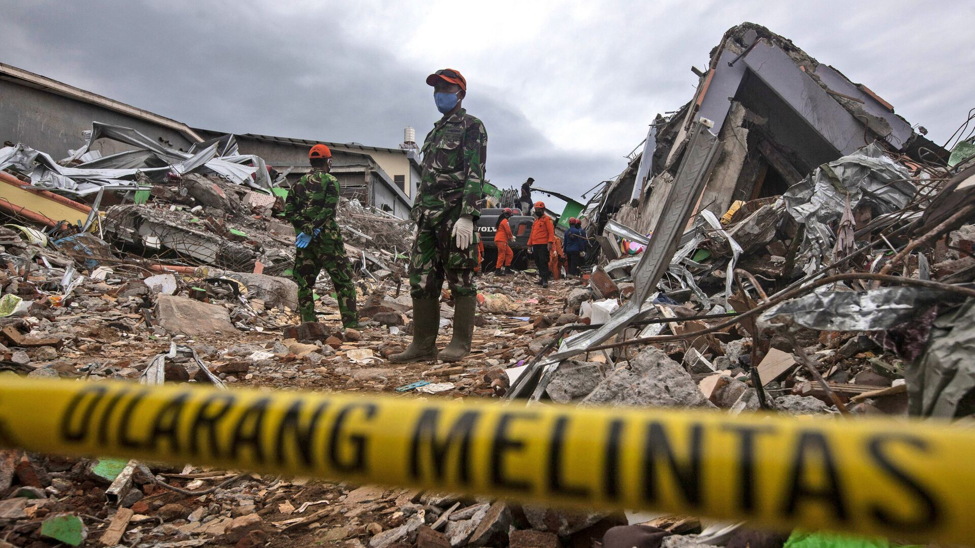 Terremoto en Indonesia (archivo) - Sputnik Mundo, 1920, 04.04.2021