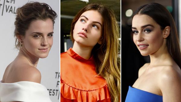 Emma Watson, Thylane Blondeau y Emilia Clarke - Sputnik Mundo