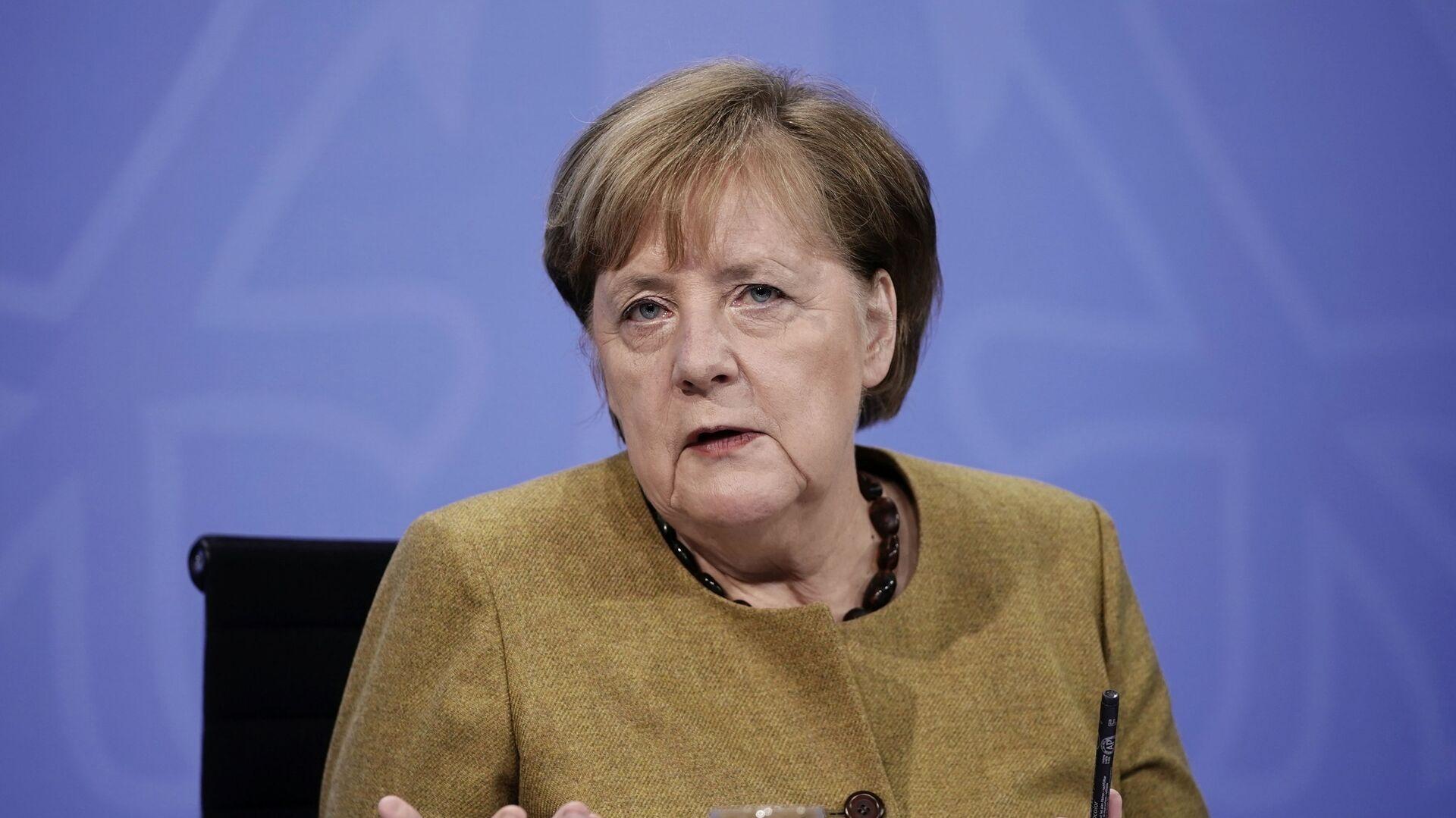 Angela Merkel, canciller alemana - Sputnik Mundo, 1920, 14.05.2021
