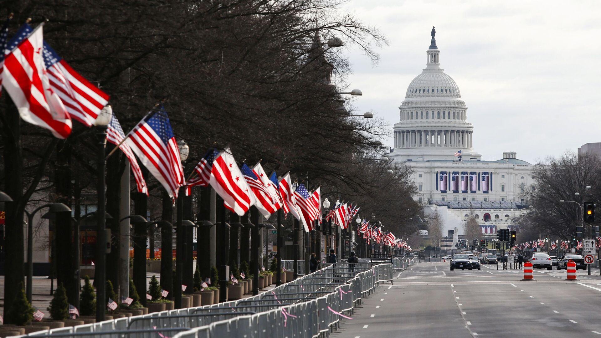 Capitolio en Washington DC en EEUU - Sputnik Mundo, 1920, 01.02.2021