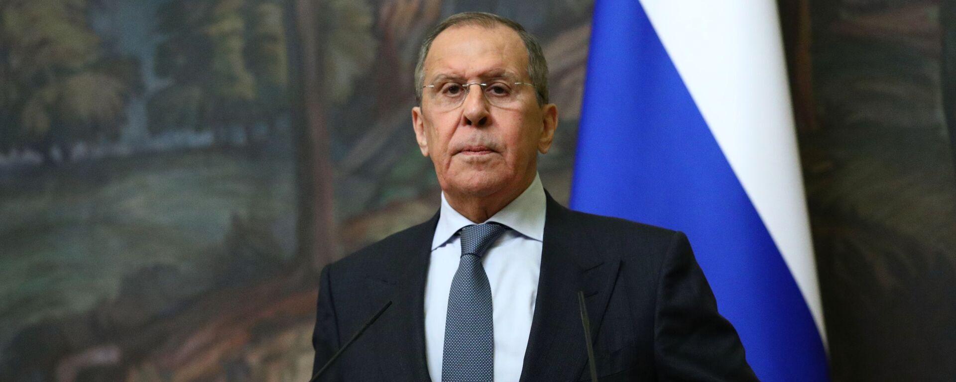 El ministro de Relaciones Exteriores de Rusia Sergéi Lavrov - Sputnik Mundo, 1920, 28.04.2021