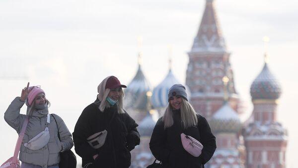 Frío en Moscú - Sputnik Mundo