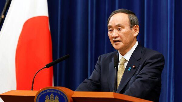 Yoshihide Suga, el primer ministro japonés - Sputnik Mundo