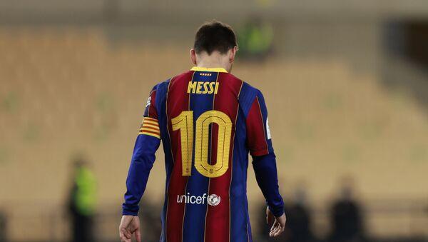 El capitán del FC Barcelona Leonel Messi - Sputnik Mundo