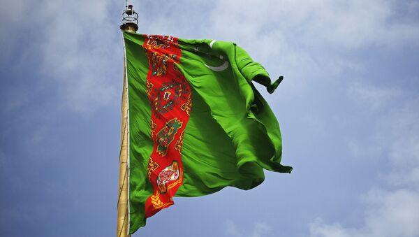 La bandera de Turkmenistán - Sputnik Mundo