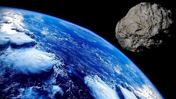 Imagen referencial de un meteorito - Sputnik Mundo