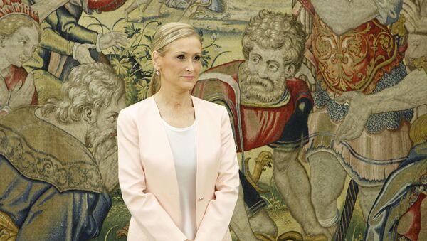 La expresidenta de la Comunidad de Madrid, Cristina Cifuentes - Sputnik Mundo
