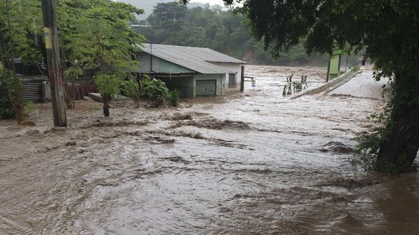Huracán Iota en Guatemala  - Sputnik Mundo