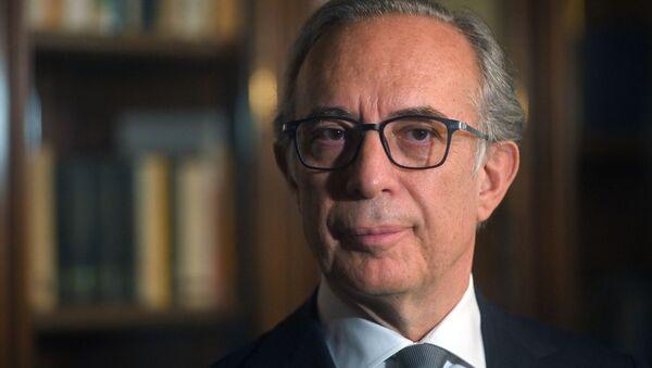 Pasquale Terracciano, embajador de Italia en Moscú - Sputnik Mundo