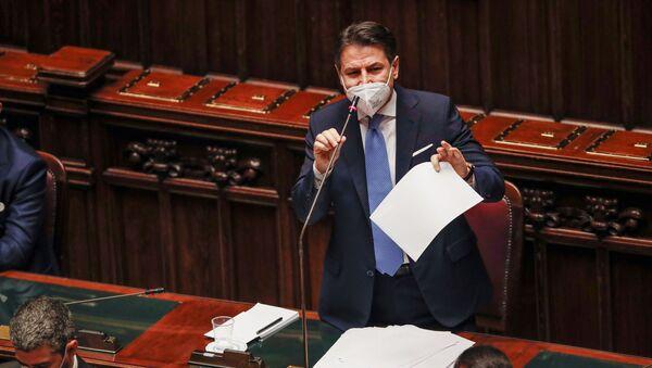 Giuseppe Conte, primer ministro de Italia - Sputnik Mundo