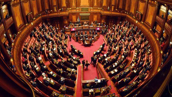 El Senado italiano - Sputnik Mundo