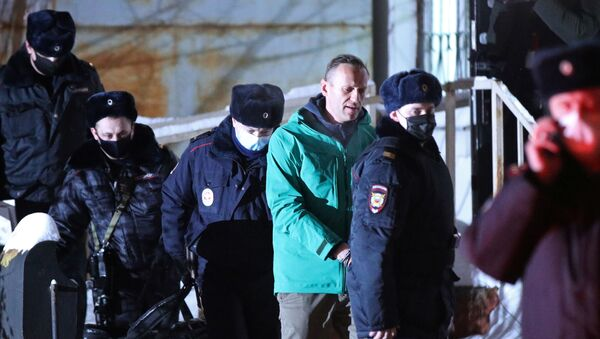 Alexéi Navalni - Sputnik Mundo