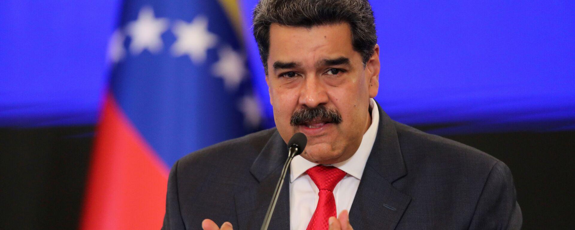 Nicolás Maduro, presidente de Venezuela - Sputnik Mundo, 1920, 15.03.2021