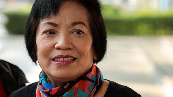 Anchan Preelert, condenada a prisión en Tailandia por insultar a la familia real - Sputnik Mundo