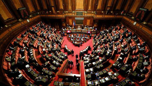 Senado de Italia - Sputnik Mundo
